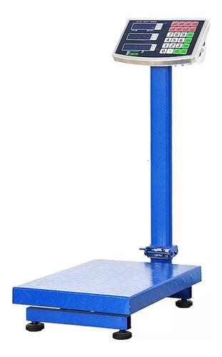 Balanza Peso Digital Industrial 300kg 110v Recargable Tienda