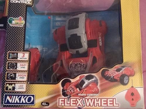 Carro Control Remoto Nikko Flex Wheel