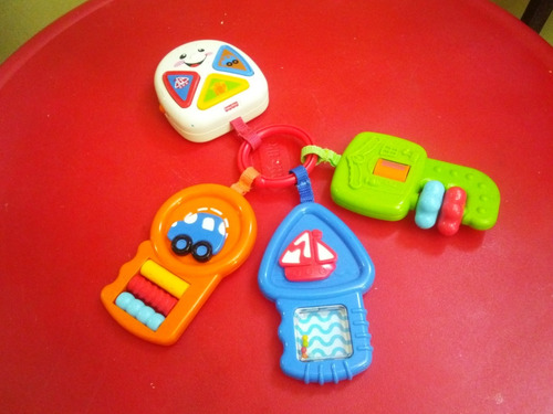 Llaves Fisher Price Juguete Didactico