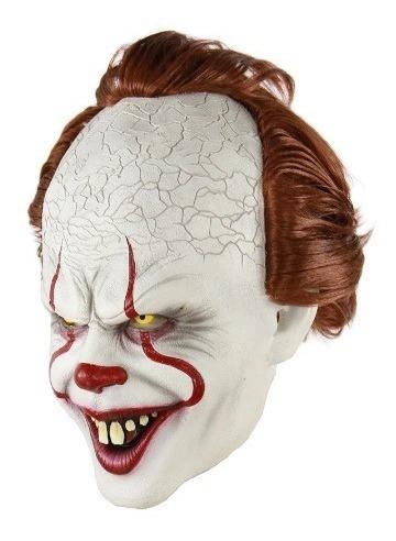 Máscara De La Película De It Payaso Halloween