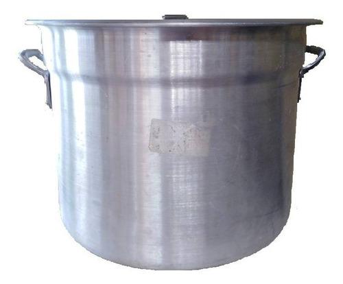 Olla Mondonguera De Aluminio.  Y 50 Lts