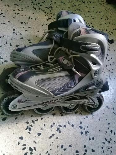 Patines En Linea Marca Roller Derby Hybrid G900, Original.