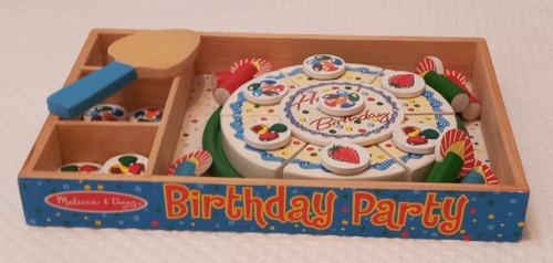 Torta De Cumpleaños Melisa & Doug