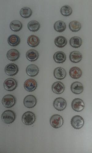 Coleccion Chapas De Beisbol Mlb Años 90
