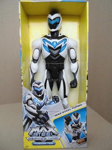 Muñeco Figura Accion Max Steel Turbo 45cm Mattel