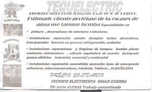 Soluciones tecnica tequelectric para reparar cerco electrico
