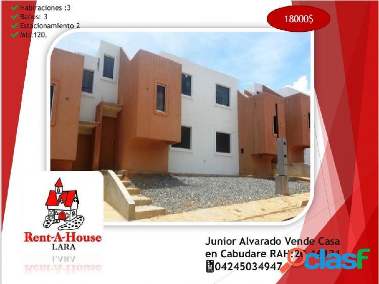 Junior Alvarado Vende Casa en Cabudare RAH:20-16131