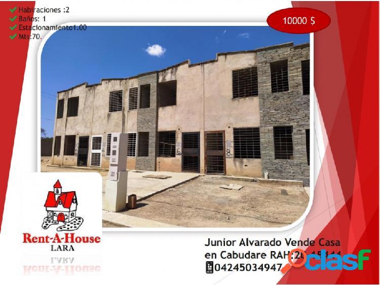 Junior Alvarado Vende Casa en Cabudare RAH:20-18444