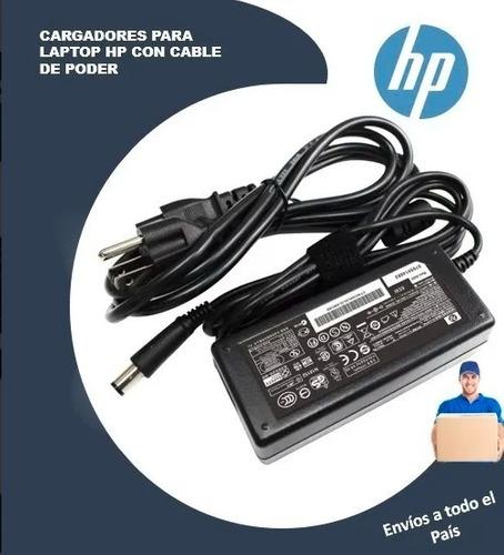 Cargador Para Lapto Hp Compaq, Pavilion, Probook 19v 4.74a