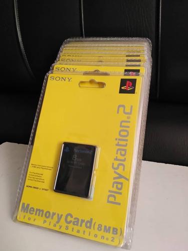 Memory Card De Playstation 2 (8mb, 32mb Y 64mb).