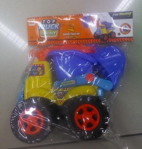 Carro Camión Volteo Juguete Carrito Truck Pala