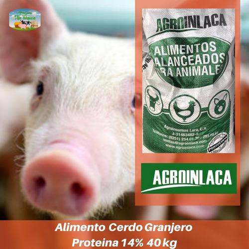Alimento Para Animales / Cerdo Granjero Agroinlaca kg