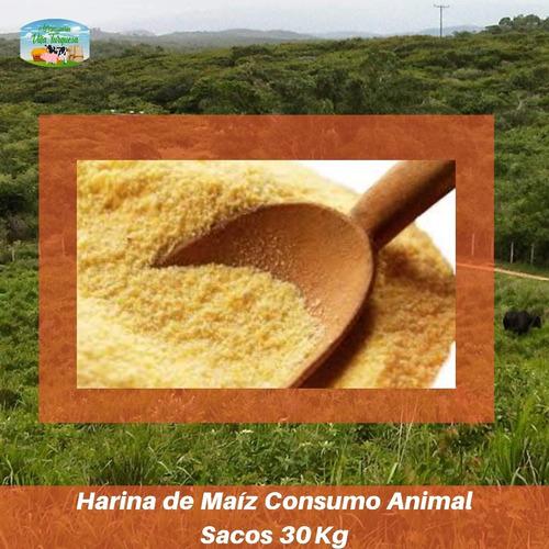 Alimento Para Animales / Harina De Maíz Saco 30 Kg