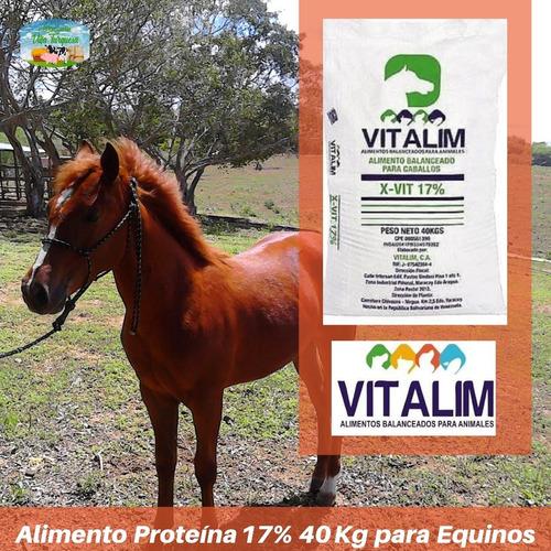 Alimento Para Animales /caballos De Trabajo Vitalim kg