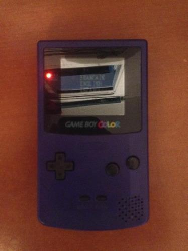 Game Boy Color Nintendo Incluye 1 Juego Y Estuche Casi Nuevo