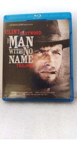 Clint Eastwood Western Trilogía Bluray Original Como Nuevo