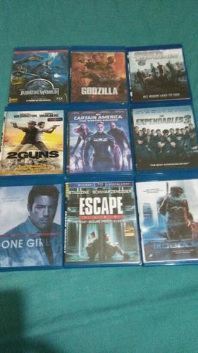 Combo De Películas Y Videos Bluray (copias) Ver