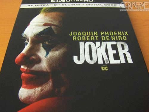 Joker (4k Ultra Hd + Bluray + Hd) Original Nuevo Y Sellado
