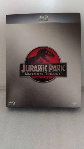 Jurassic Park Trilogía Bluray Box Set Original Como Nuevo