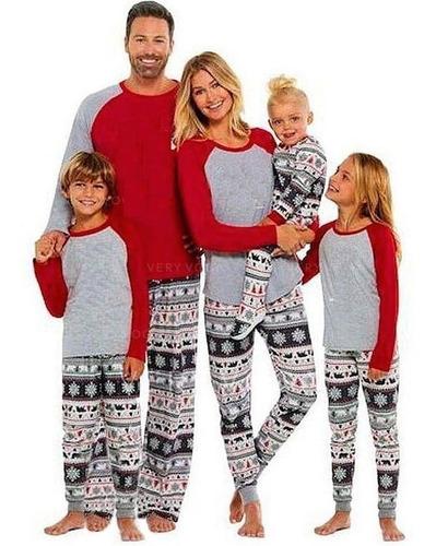 Pijamas De Navidad Para Toda La Familia