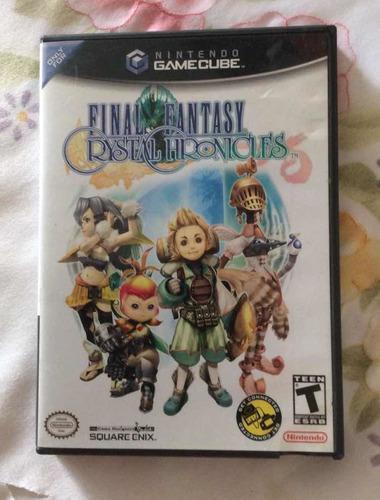 Juego Para Nintendo Gamecube Final Fantasy Crystalchronicles