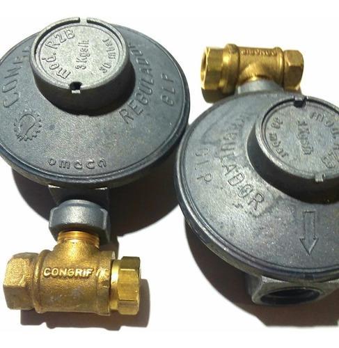 Regulador De Gas Para Bombonas De 18 Y 43 Kg