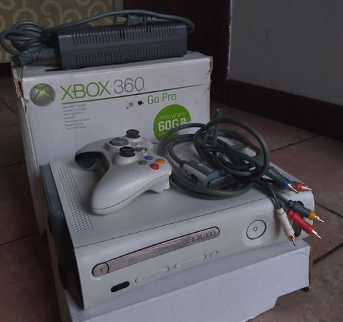 Xbox 360 Go Pro 60gb + 5 Juegos Copias + Sensor Kinect
