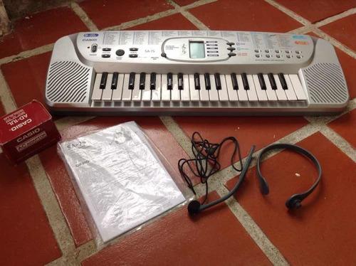 Teclado Casio Sa -75 De 100 Tonos -cod-