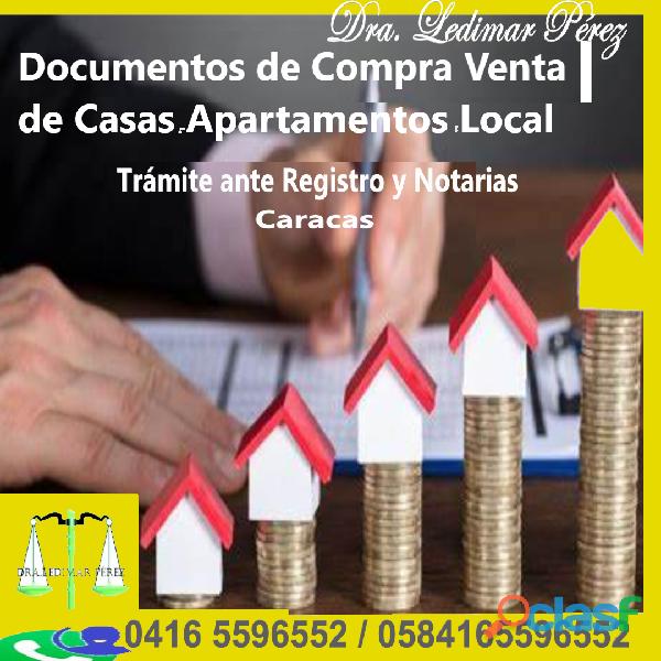 Documentos de Compra Venta de Casas en Venezuela